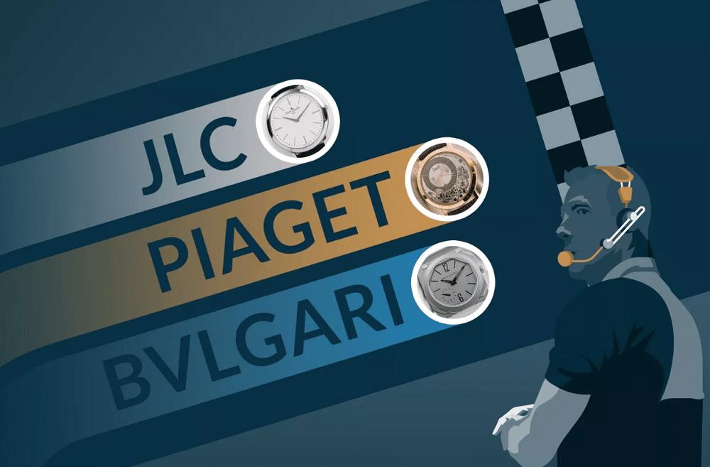 Cuộc đua tạo ra đồng hồ cơ siêu mỏng nhất thế giới
