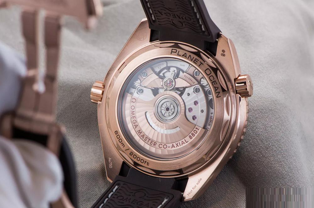 Bộ máy đồng hồ cơ automatic Omega Co Axial 8801