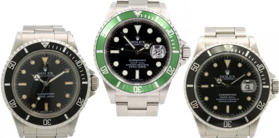 Nhiều lựa chọn hơn khi mua đồng hồ Rolex Submariner đã qua sử dụng