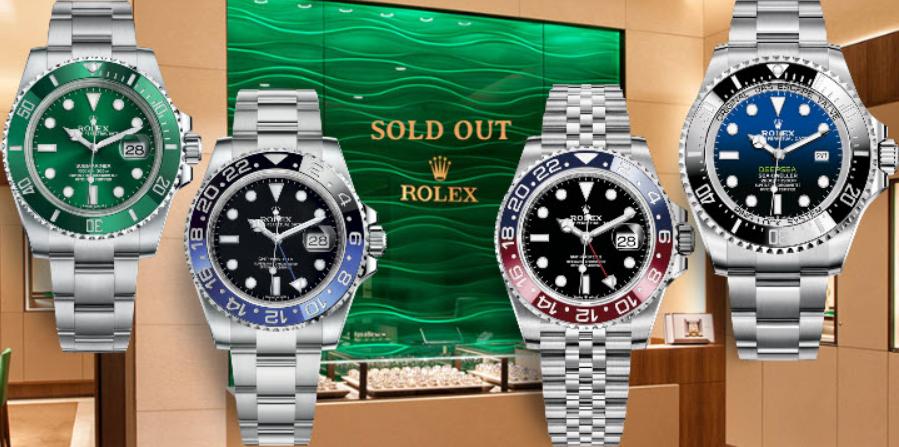 Mua đồng hồ Rolex trong danh sách chở