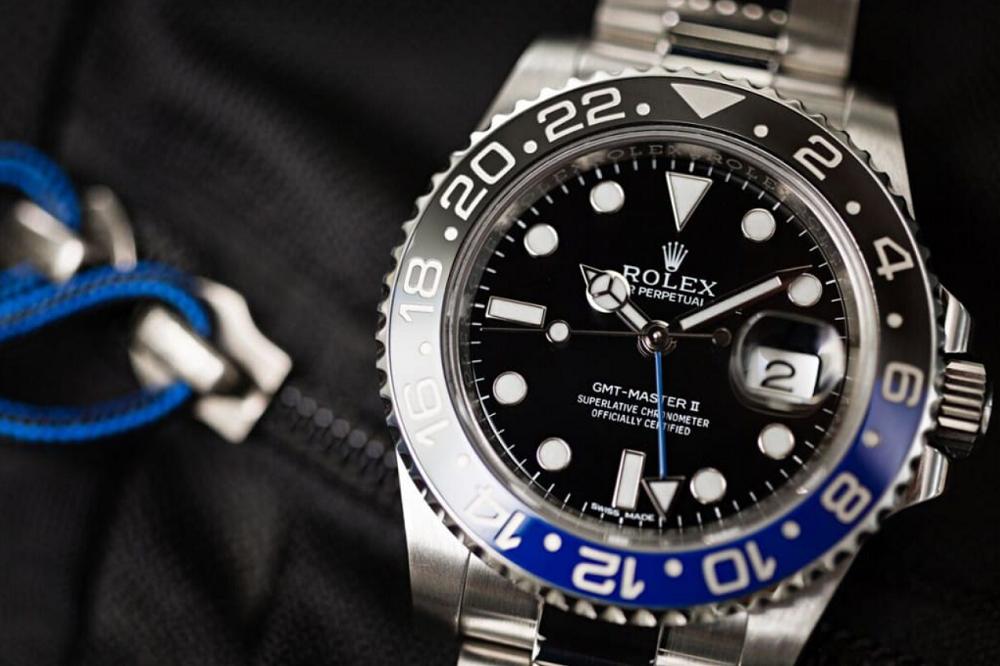 Đồng hồ Rolex Batman GMT Master II 116710BLNR
