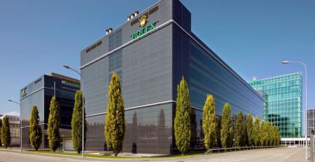 Trụ sở công ty Rolex tại Geneva