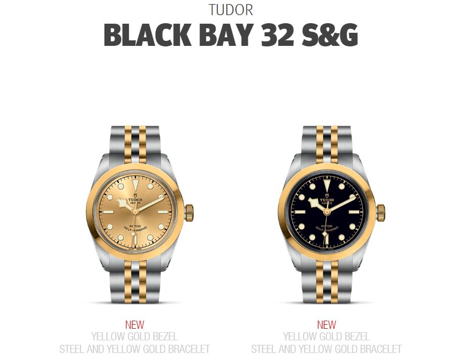 Tudor Black Bay 32 S&G M79583-0002