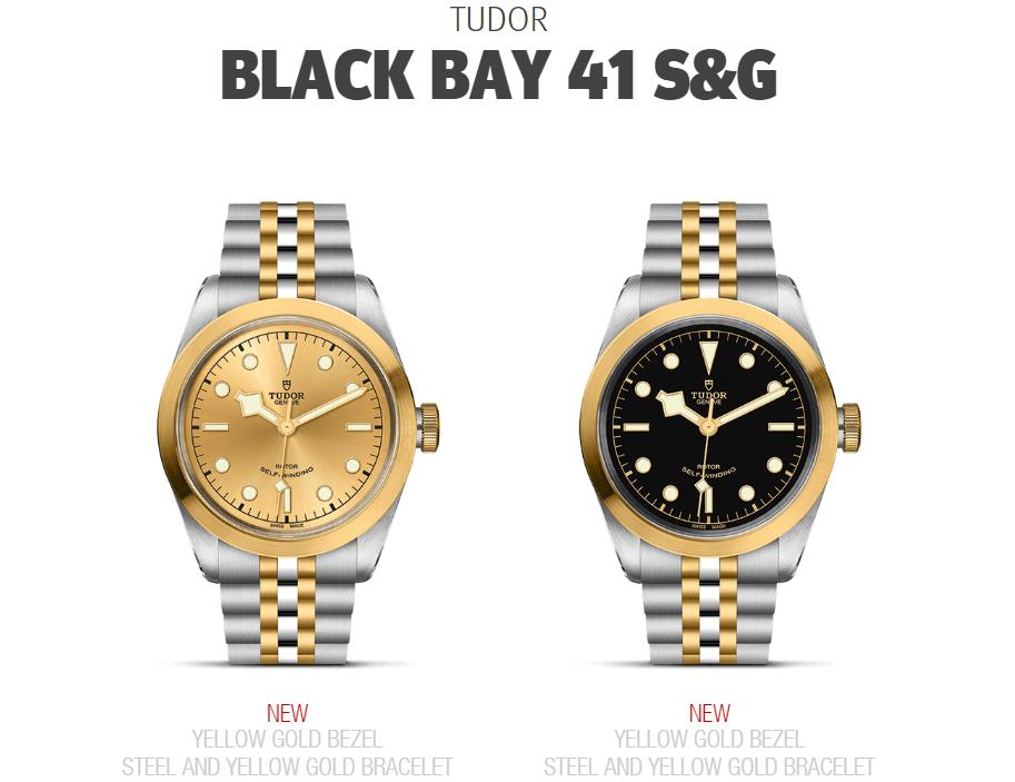 Tudor Black Bay 41 S&G M79543-0002