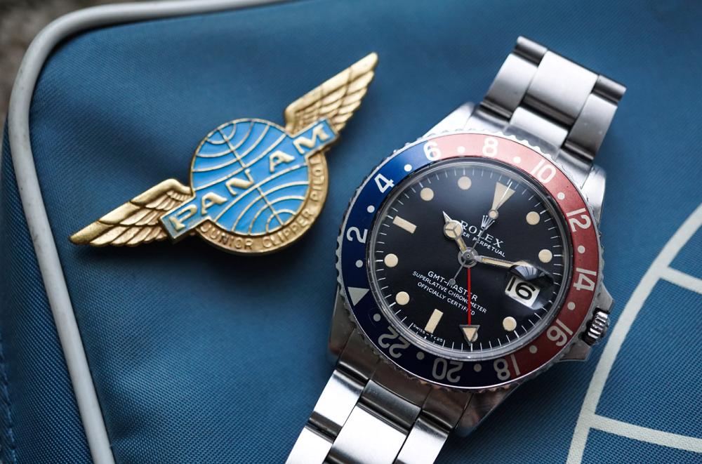 "Đồng hồ Rolex GMT Master ""Pepsi"""