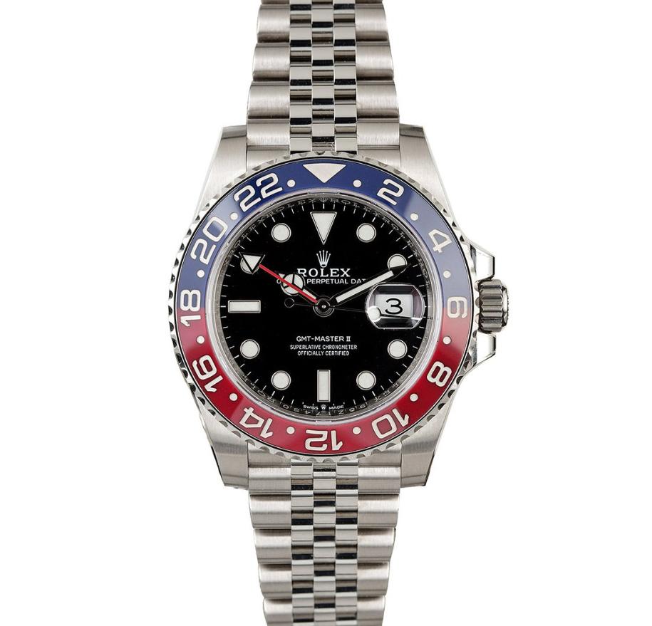 Đồng hồ Rolex Pepsi GMT-Master II
