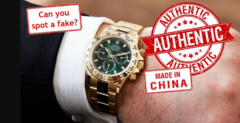 Đồng hồ Rolex Fake, Replica hoặc Franken-Rolex