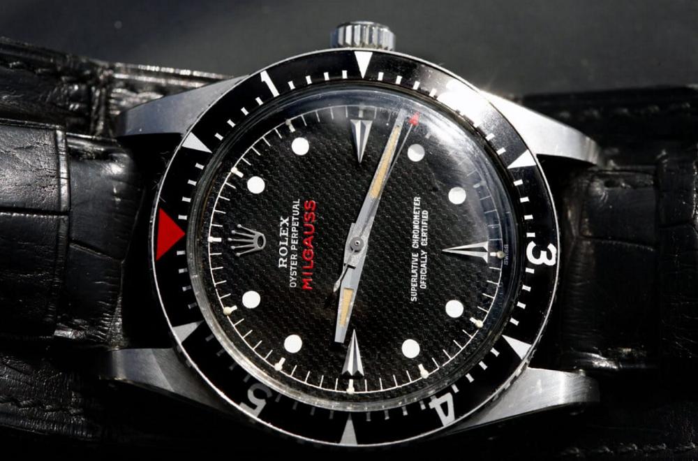 Hands Rolex Milgauss 1016
