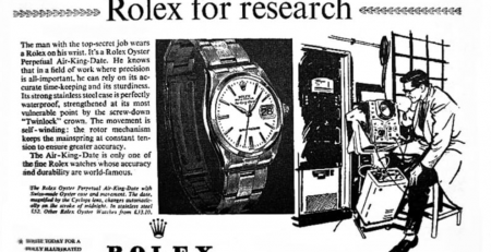 Tìm hiểu lịch sử phát triển Rolex Air-King