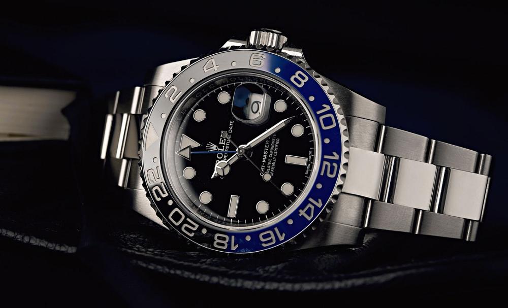 Đồng hồ Rolex Batman GMT-Master II