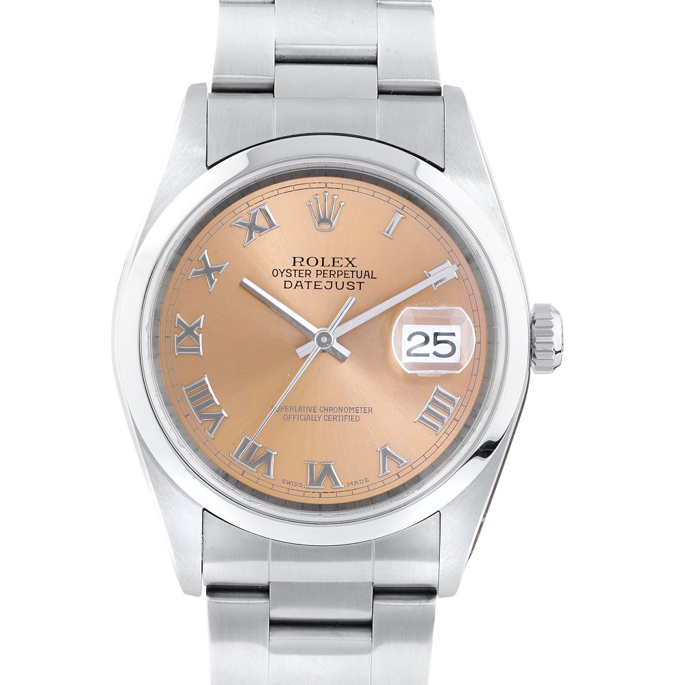 Rolex Stainless Steel Datejust 16200
