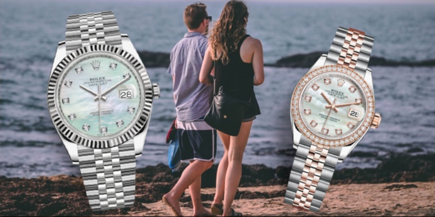 Đồng hồ đôi Rolex Datejust