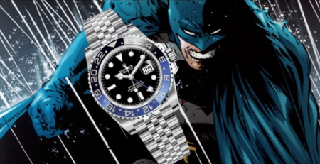 Rolex Batman GMT-Master II Ref. 126710BLNR