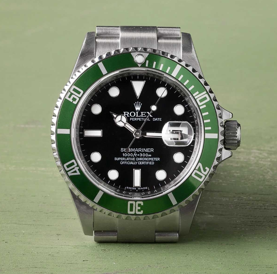 Rolex Kermit Submariner