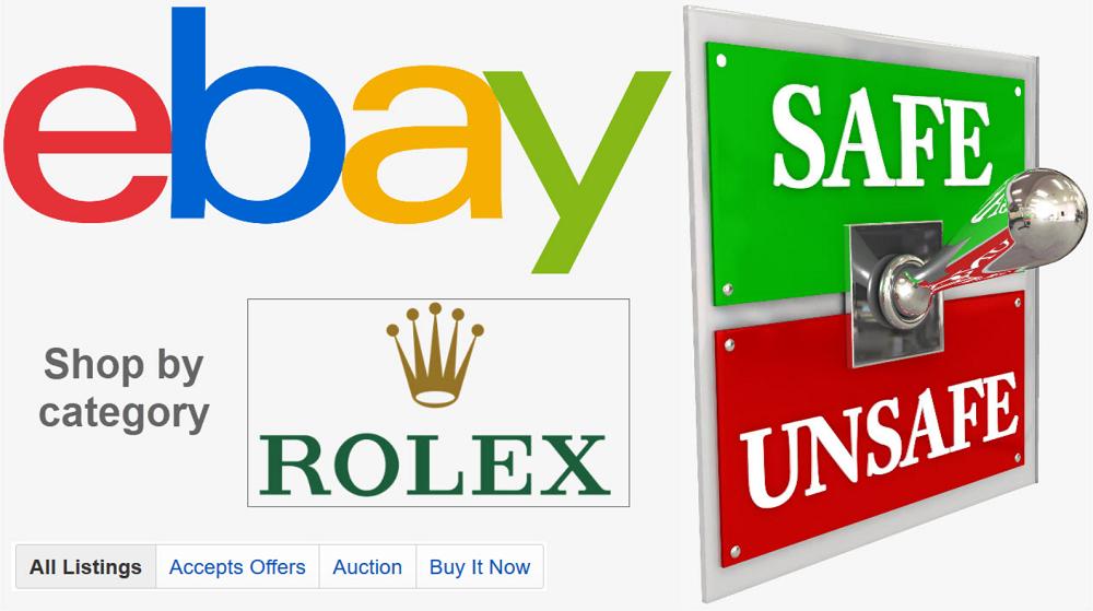 Mua đồng hồ Rolex trên eBay có an toàn không?
