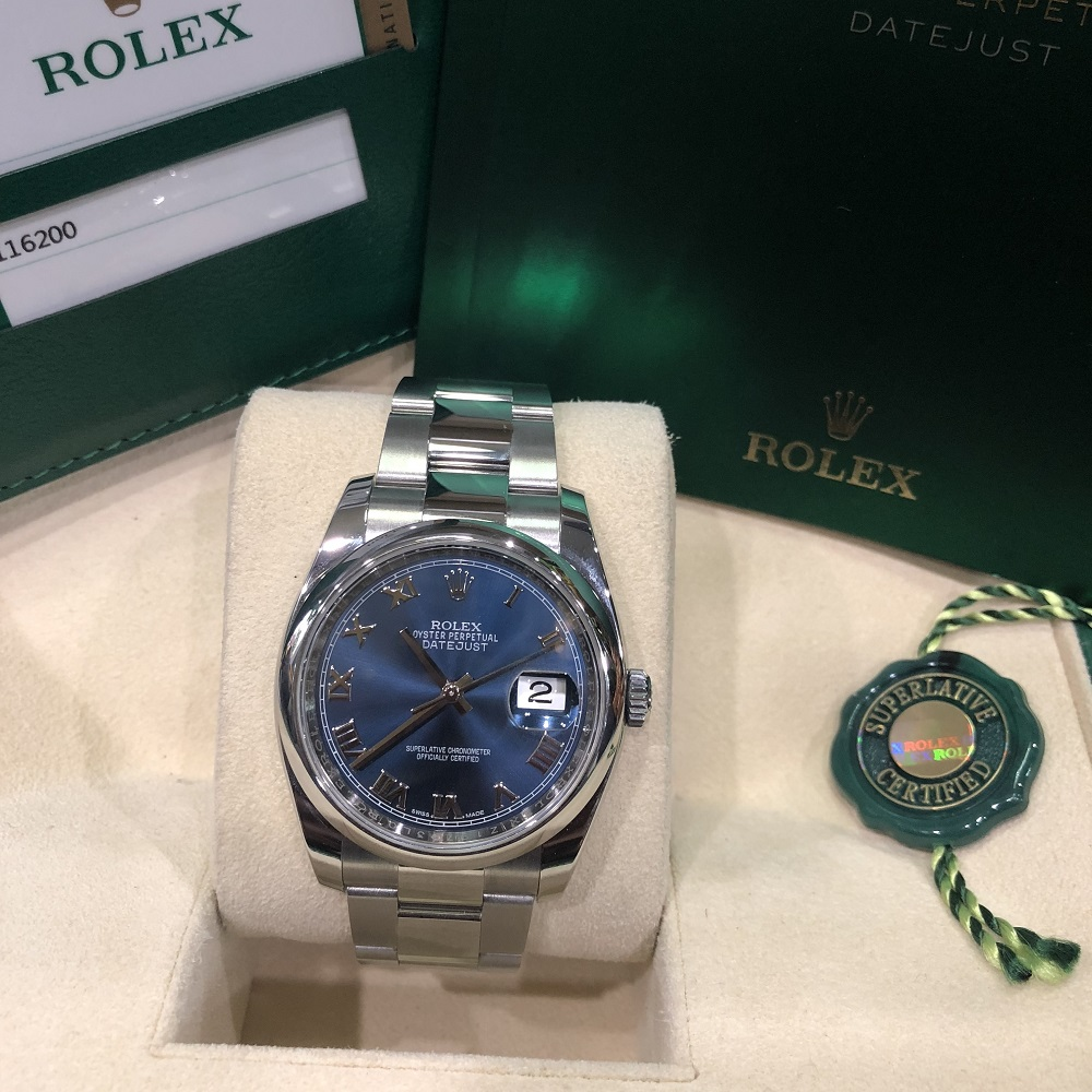 rolex-datejust-116200-mat-xanh-coc-so-la-ma-fullbox-2016