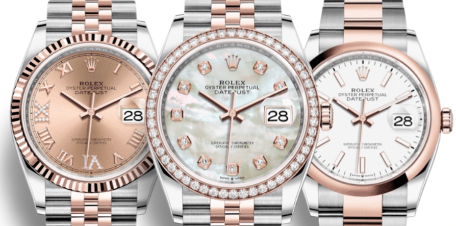 Rolex Datejust 36 - Everose Gold Two-Tone 'Rolesor'