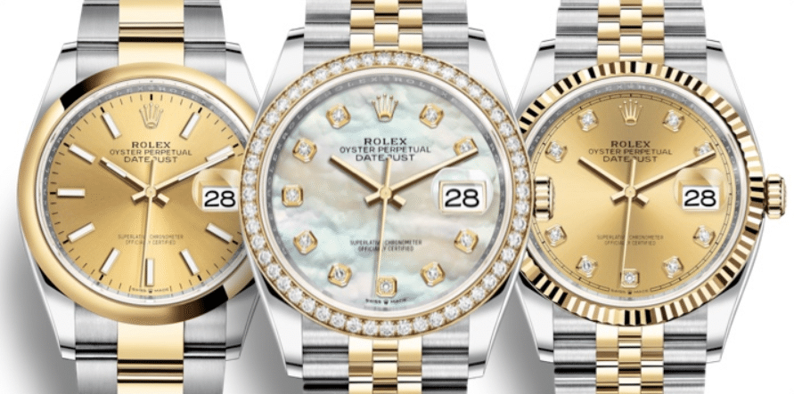 Rolex Datejust 36 – Yellow Gold Two-Tone 'Rolesor'