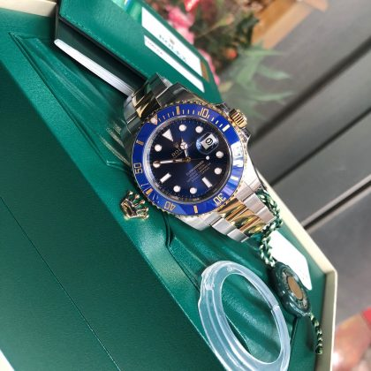 rolex-submariner-116613-mat-xanh-vien-bezel-gom-fullbox-2018