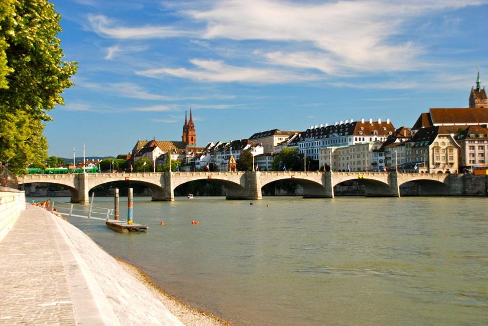 Thành phố Basel tại Thụy Sĩ