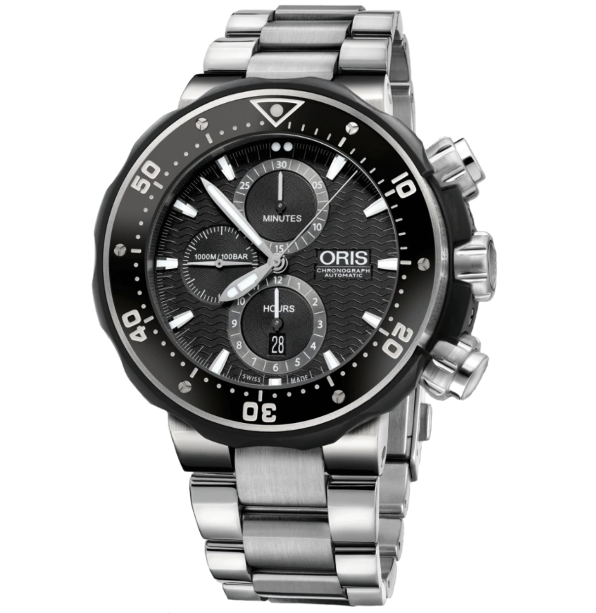 Đồng hồ Oris Pro Diver Titanium Chronograph 674.7630.7154