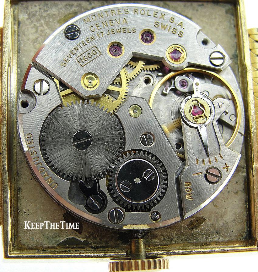 Bộ máy Rolex Calibre 1600