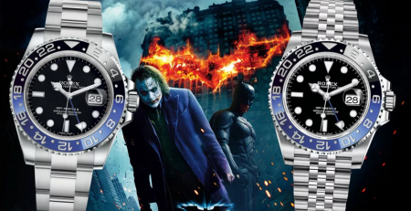 Rolex GMT-Master Batman