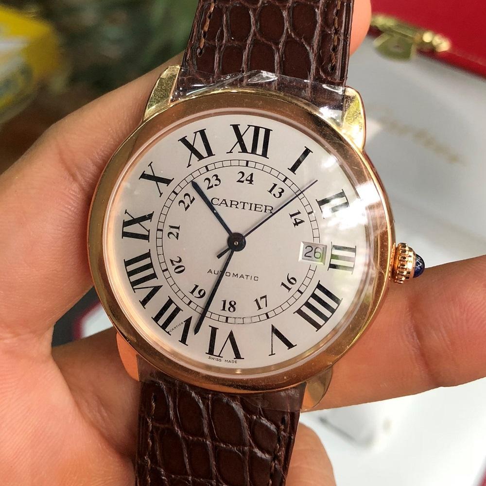 Cartier Ronde Solo W6701009 de XL Automatic