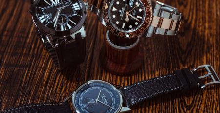 Đồng hồ theo dõi múi giờ GMT, Dual Time và World Time