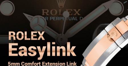 Hướng dẫn hệ thống Easylink tăng giảm kích thước dây Rolex