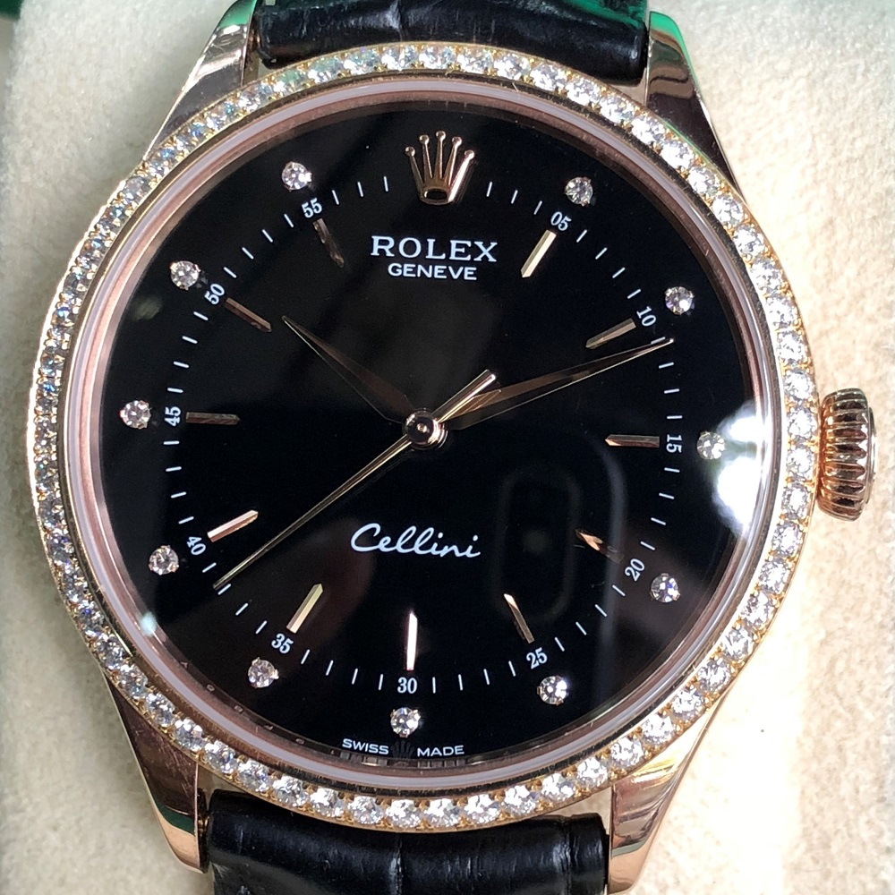Rolex Cellini Time 50705RBR-0013 Everose Gold