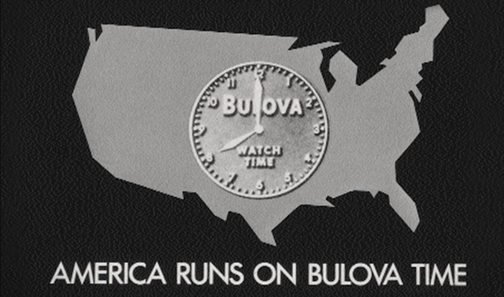 Bulova thương hiệu đầu tiên quảng cáo đồng hồ trên sóng truyền hình