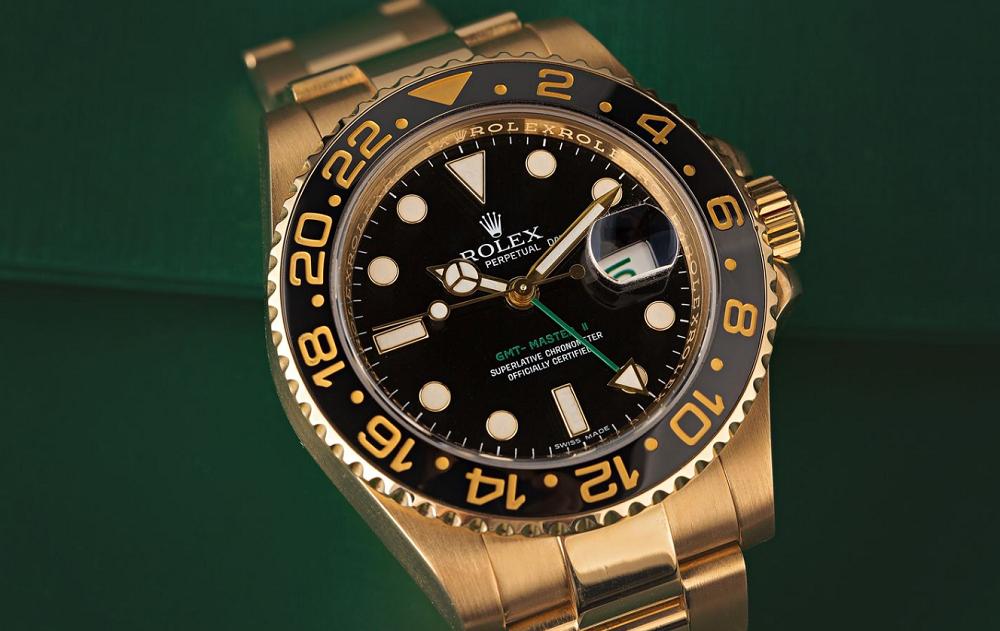Đồng hồ Rolex GMT-Master vàng khối