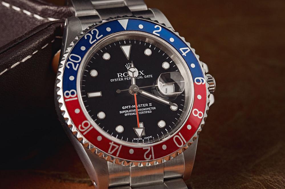 Đồng hồ Rolex GMT Master Ref 16710