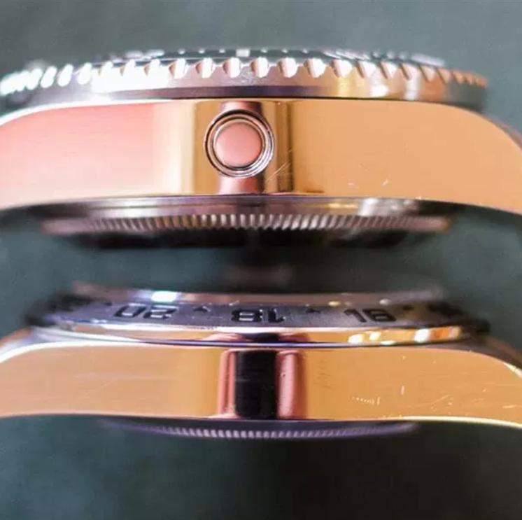 Vế trầy xước trên Rolex có là câu chuyển của chủ sở hữu
