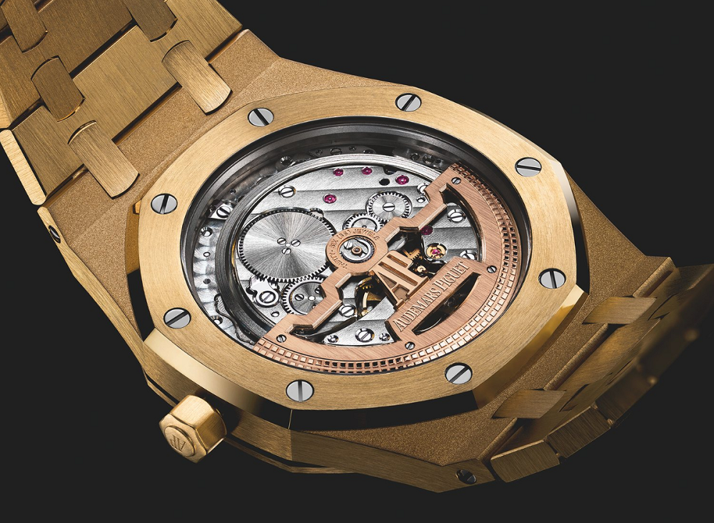 Audemars Piguet Yellow Gold 15202 Jumbo