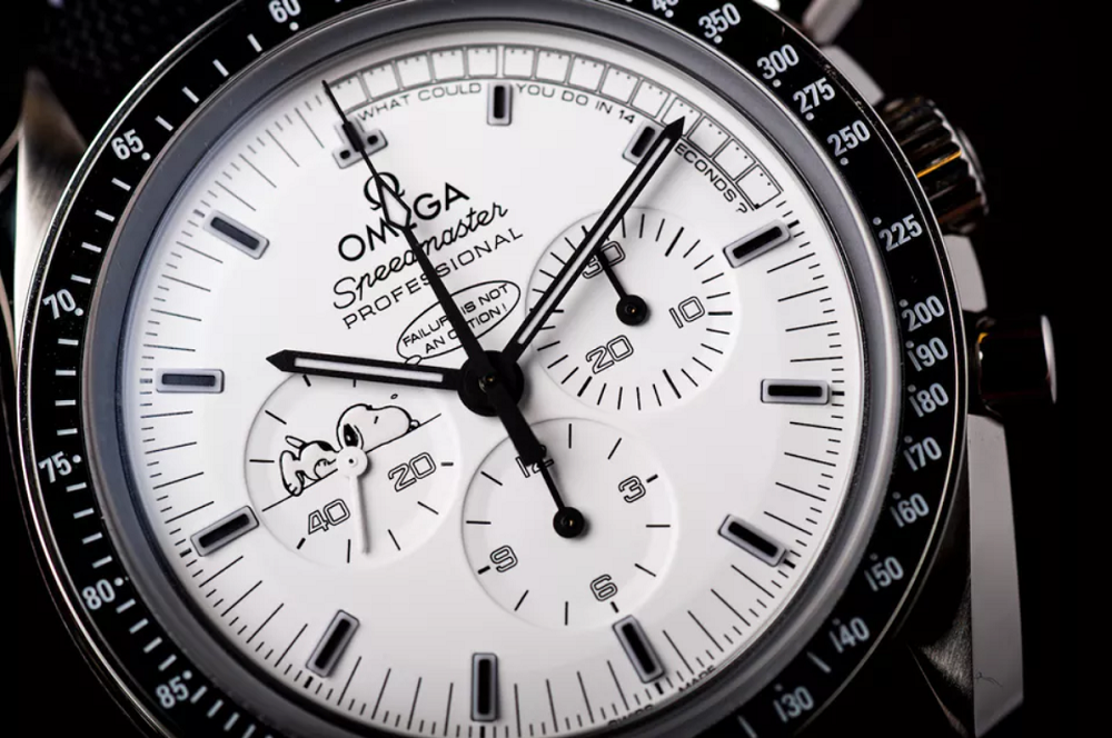 Omega Speedmaster Apollo 13 Silver Snoopy