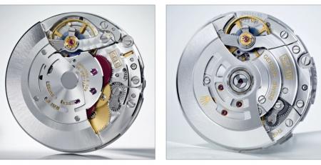 Bộ máy Rolex Calibre 3135 so với Calibre 3235