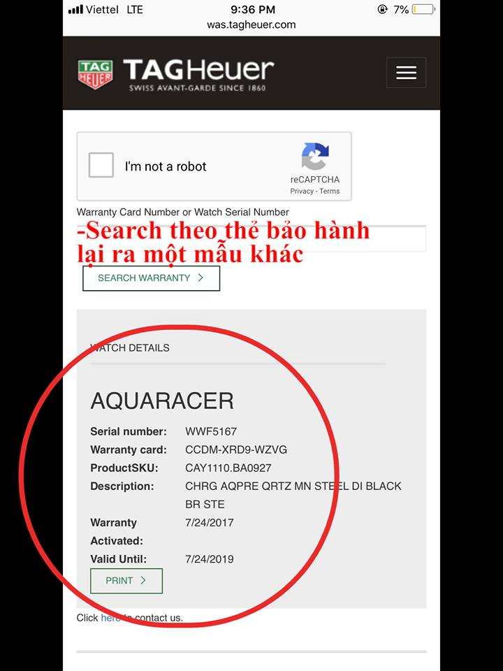 Tag Heuer Aquaracer Ceramic Fake