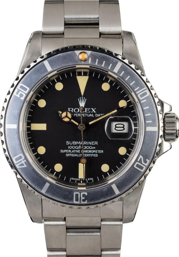 Rolex Vintage Submariner 16800