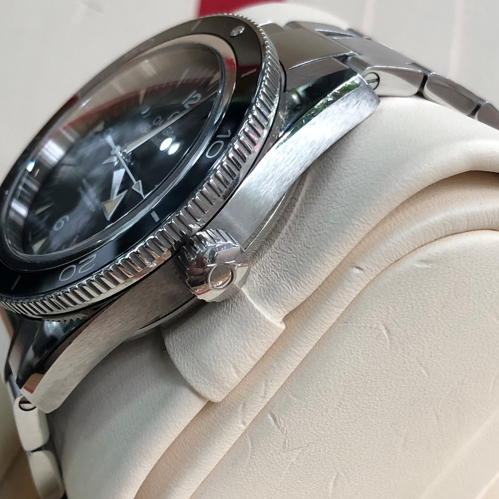 Omega Seamaster 300 Master Co-Axial Stainless Steel Size 41 Fullbox