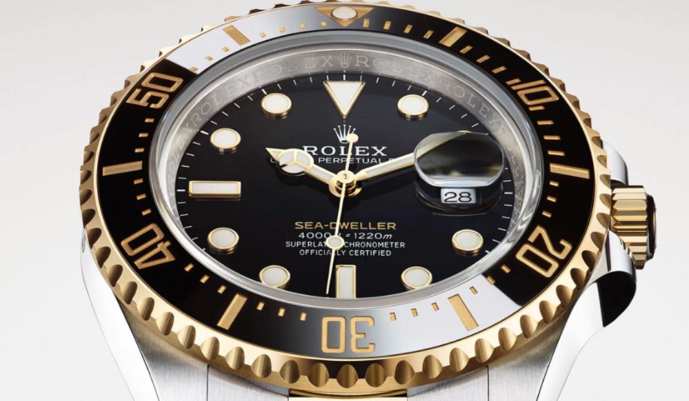 Rolex Rehaut khắc Sea-Dweller