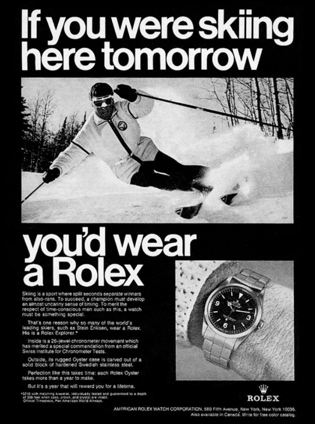 Quảng cáo Rolex