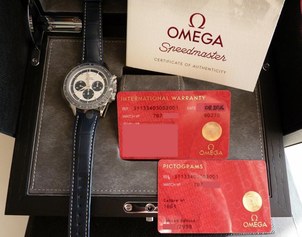 Tất cả đồng hồ OMEGA chính hãng đều được bảo hành trong 5 năm