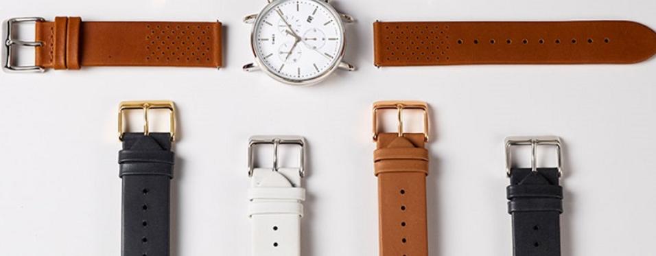 Cách vệ sinh dây da đồng hồ màu trắng thế nào?