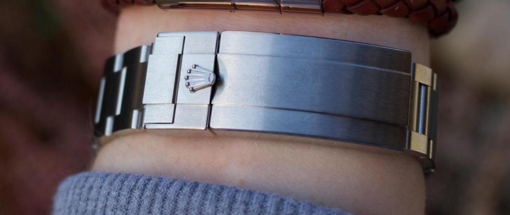 Dây đeo Rolex thép được làm bằng thép 904L