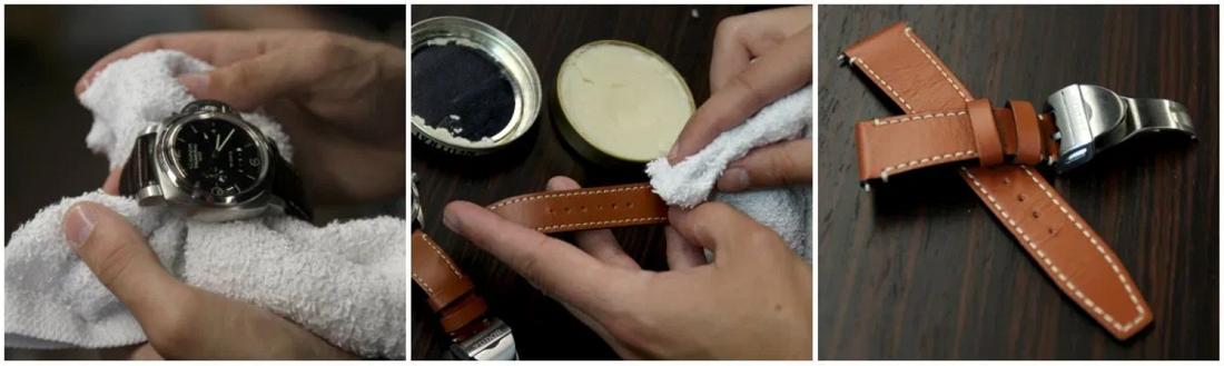 Hướng dẫn cách vệ sinh dây da đồng hồ đeo tay tại nhà