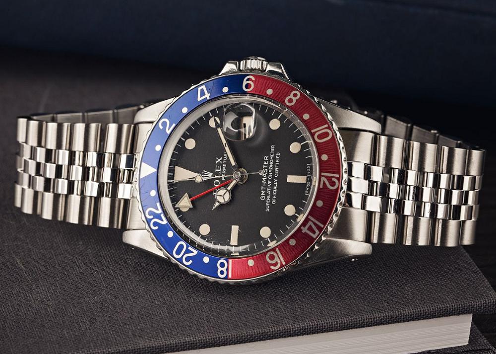 Đồng hồ Rolex GMT-Master 1675 chính hãng