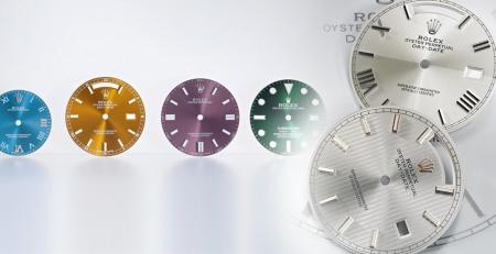 Rolex đã sử dụng những loại đá nào cho mặt số đồng hồ của họ?
