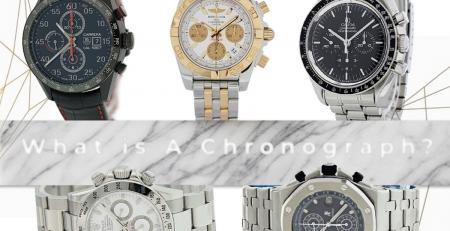 5 Chiếc đồng hồ bấm giờ Chronograph đã qua sử dụng tốt nhất